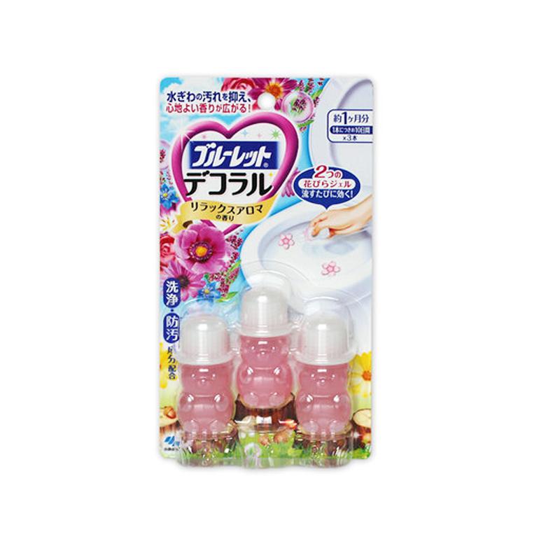 KOBAYASHI 小林制药 洁厕灵 凝胶花瓣 自然花香