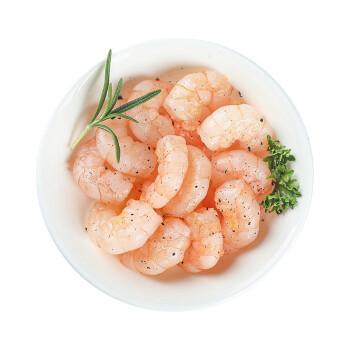 海一品 鲜冻白虾仁 去虾线 净重750g*4 + 亚洲渔港 海捕精品带鱼段 300g*4