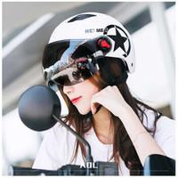 迈乐佳 哈雷头盔 摩托车电瓶车安全帽