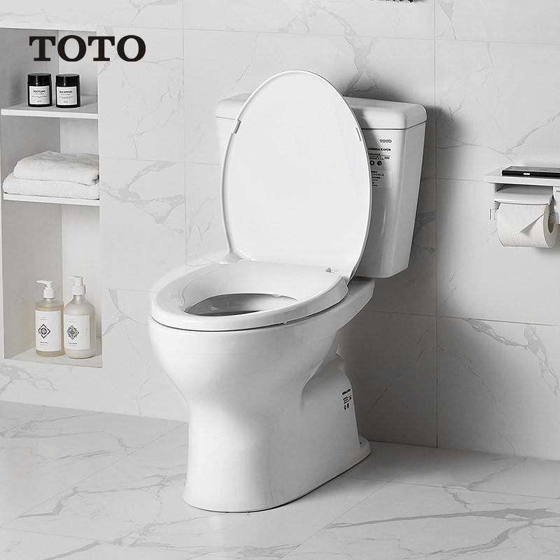 TOTO 东陶 C300E1B 智洁釉面抽水马桶 300MM