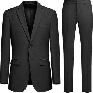 西服套装男三件套商务修身职业上班正装西装外套伴郎新郎结婚礼服