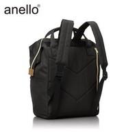 anello日本乐天离家出走包双肩包男女背包书包B0193A中号可放15.6英寸笔记本 黑色