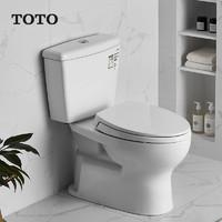 TOTO C300E1B/S300DEB 虹吸式智洁釉面抽水马桶 305mm