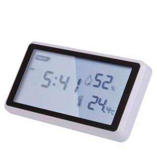 得力温度计室内家用高精准度电子数显壁挂婴儿房干温湿度计温度表