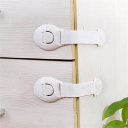 米良品 加长儿童安全防护锁 5个装