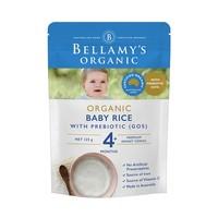 BELLAMY'S 贝拉米 婴幼儿辅食 宝宝有机米粉 125g*3件