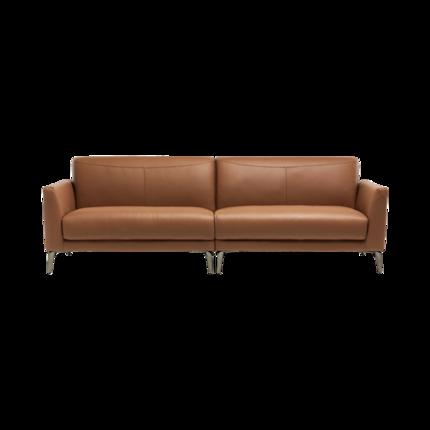 8H B5C Alta轻奢意式真皮天然乳胶沙发 三人位