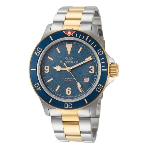 超值黑五、银联返现购 : GLYCINE 冠星 Combat GL0262 男士机械腕表