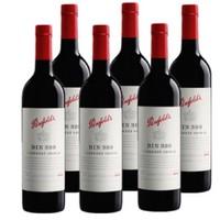 澳洲奔富BIN389干红酒葡萄酒浪漫礼物节日礼品*6瓶整箱