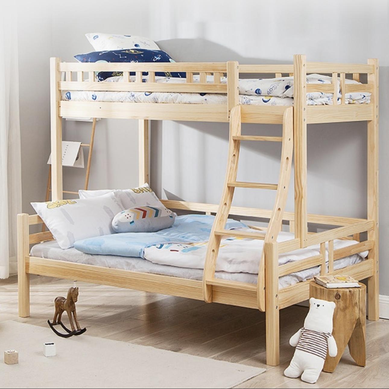 历史低价 : 网易严选 全实木日式儿童高低床