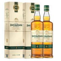 美奇先生 捷克威士忌 700ml*2瓶