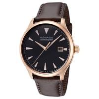 超值黑五、银联返现购:MOVADO 摩凡陀 Heritage 3650020 男士时装腕表