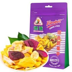 越南德诚果蔬干水果干综合口味 80g/袋 *14件 +凑单品