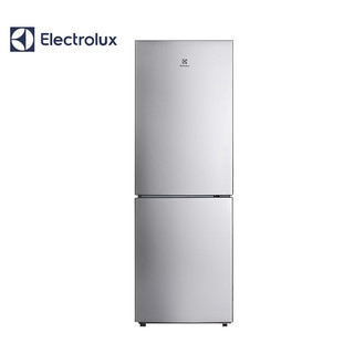 Electrolux/伊莱克斯 冰箱218升风冷无霜两门家用小型EBE2201TS(闪白银)