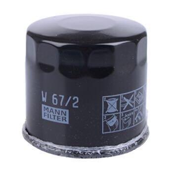 MANN 曼牌 W67/1 机油滤清器 日产、马自达车系专用 *8件