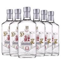 京东PLUS会员:永丰 北京二锅头原浆白酒42度 500ml*6瓶