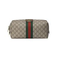 88VIP:Gucci 古驰 Ophidia 572767 GG帆布红绿条纹手拿包