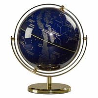 夜空地球仪,带8英寸旋转支架