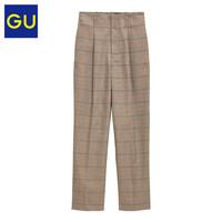GU 极优 327507 女装直筒休闲裤