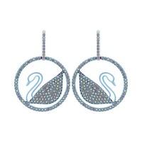 超值黑五、银联爆品日:SWAROVSKI 施华洛世奇 Pop Swan 5452633 女士耳环