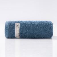 孚日洁玉 纯棉毛巾单条装 32*70cm 蓝色 90g *2件