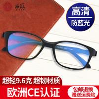 高清防蓝光老花镜男舒适超轻时尚优雅便携老光镜老人老花眼镜女