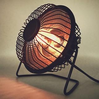 斯宝路   小太阳电热扇  4寸