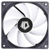 ID-COOLING FL-12025 小3pin黑框白叶经典散热风扇 DC调速适用机箱风扇 水冷风扇