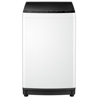 美的官方8公斤kg大容量洗衣机全自动 家用小型脱水波轮MB80ECO1