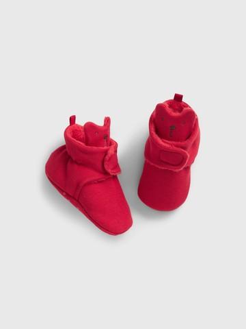 婴儿|仿羊羔绒针织学步鞋