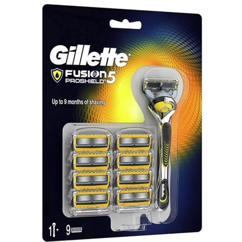 超值黑五、中亚Prime会员:Gillette 吉列 锋隐致护 手动剃须刀 1刀架9刀头