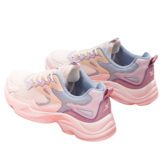 XTEP 特步  女士跑鞋 881418329782-925  米紫 37