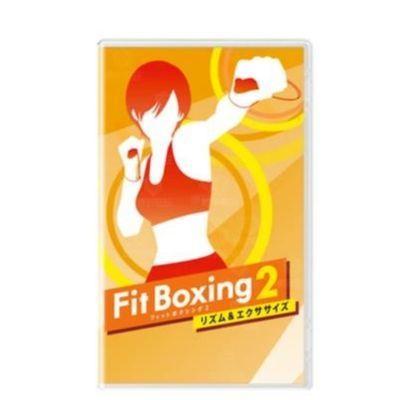 包邮任天堂Switch游戏 NS Fit Boxing2 有氧拳击2