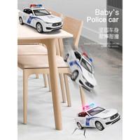 卡威(KIV)1/32合金汽车模型儿童玩具车警车车模仿真消防车救护车玩具男孩小汽车 六轮悍马 *3件