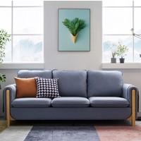 原始原素 FS-SF592-E 乳胶布艺沙发 海绵款三人位