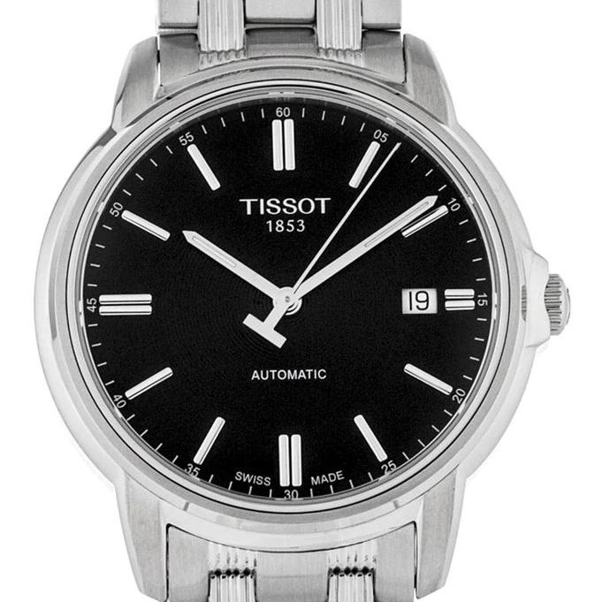 TISSOT 天梭 T0654071105100 男士机械腕表