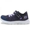 SKECHERS 斯凯奇 SPORT系列 女童魔术贴学步鞋 82188N 海军蓝色/紫色 21