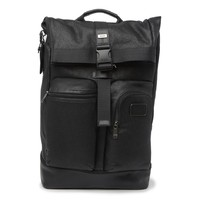 TUMI 途明 Cypress Roll Top Leather 男士双肩包