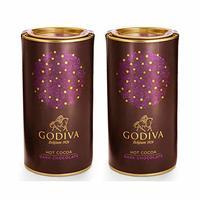 GODIVA 歌帝梵 黑巧克力可可粉 411g*2瓶