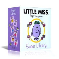 英文原版 Little Miss Board Book Collection 奇先生妙小姐图书馆套装6册 进口故事书