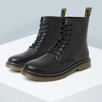 BeLLE 百丽 19302DZ9 男士牛皮8孔马丁靴