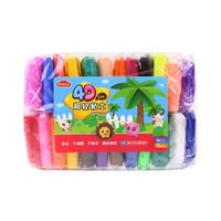 晨光(M&G)文具24色超轻粘土 彩泥4D橡皮泥 儿童手工DIY玩具(适合3岁以上)AKE03987 *7件