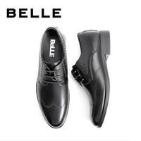 BELLE 百丽 6CK01CM9 男士布洛克皮鞋