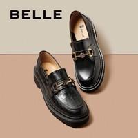 BeLLE 百丽 3ZH20CM0 英伦风乐福鞋