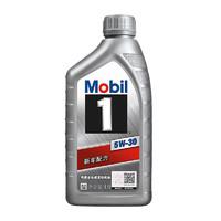 美孚(Mobil)美孚1号 全合成机油 5W-30 SN PLUS级 1L *3件