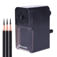 TEN-WIN  天文 8019-1 素描手摇削笔器 3挡笔尖调节 *2件