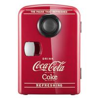 1日0点:Coca-Cola 可口可乐 kl-4 车载音乐冰箱 4L