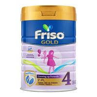 Friso 美素佳儿 金装 成长配方奶粉 4段 900g/罐 新加坡版 *4件