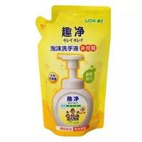 LION 狮王 趣净泡沫洗手液 补充装 柠檬香型 200ml *10件