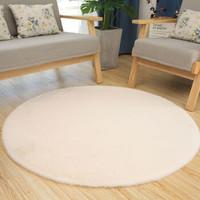 迈乐佳 圆形加厚防滑兔毛地毯 30cm *2件